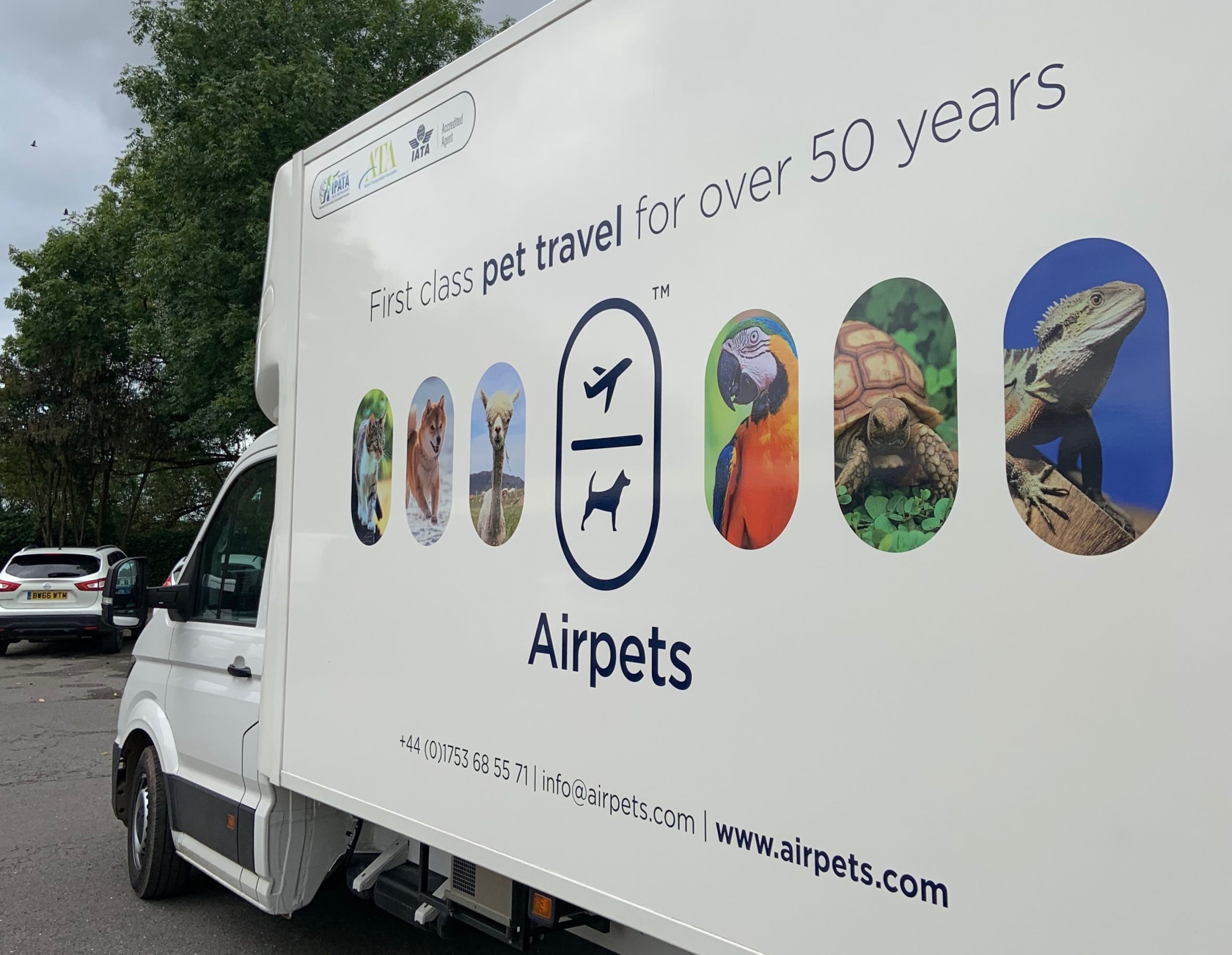 Introducing The Best Transport Fleet for Your Pets
